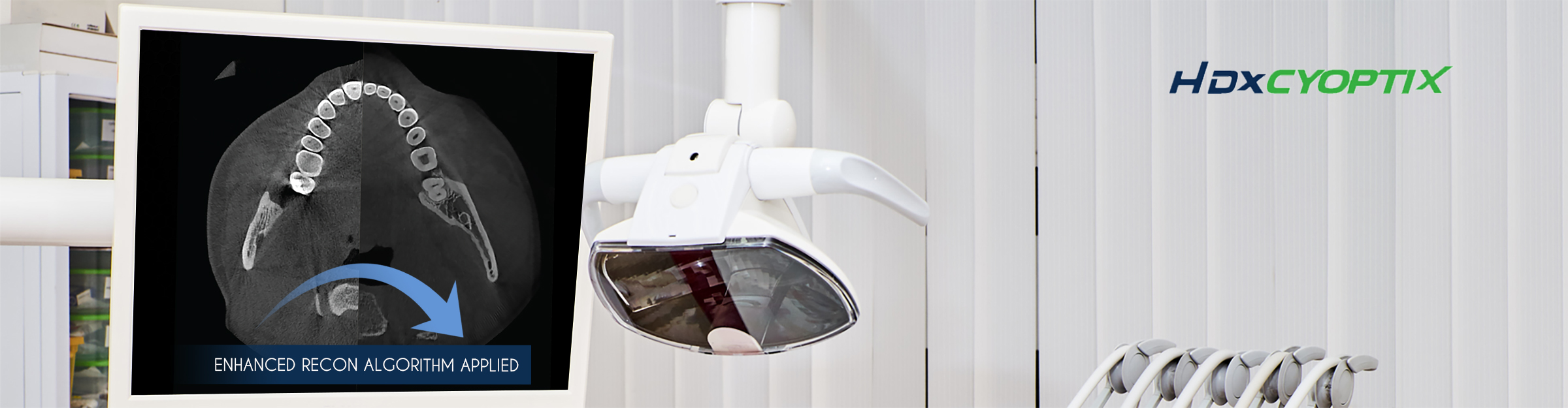 HDX Will Technology main image of dental monitor in office
